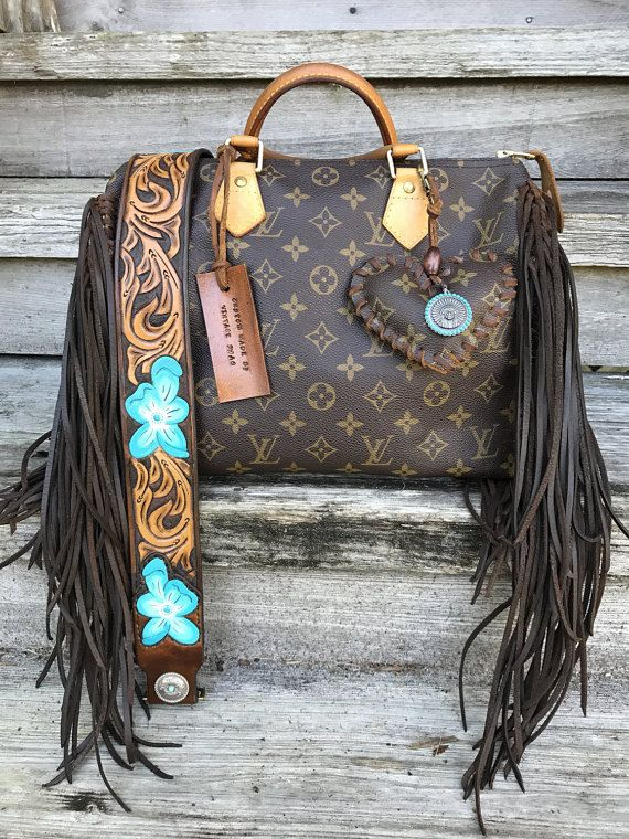 6fb20b0a9 VINTAGE SWAG Vintage FRINGED Louis Vuitton Speedy by VintageSwagCo ...