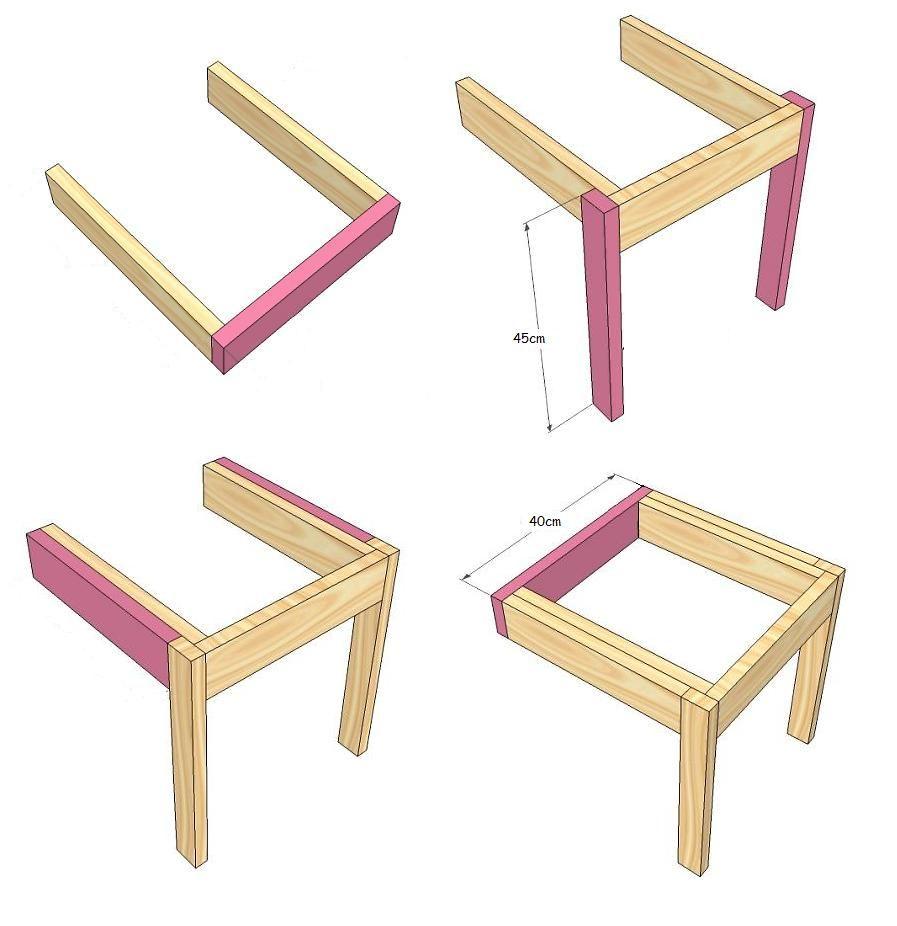 Vctry 39 s blog sillas apilables con palets o madera reciclada sillas pinterest - Como hacer sillas con palets ...