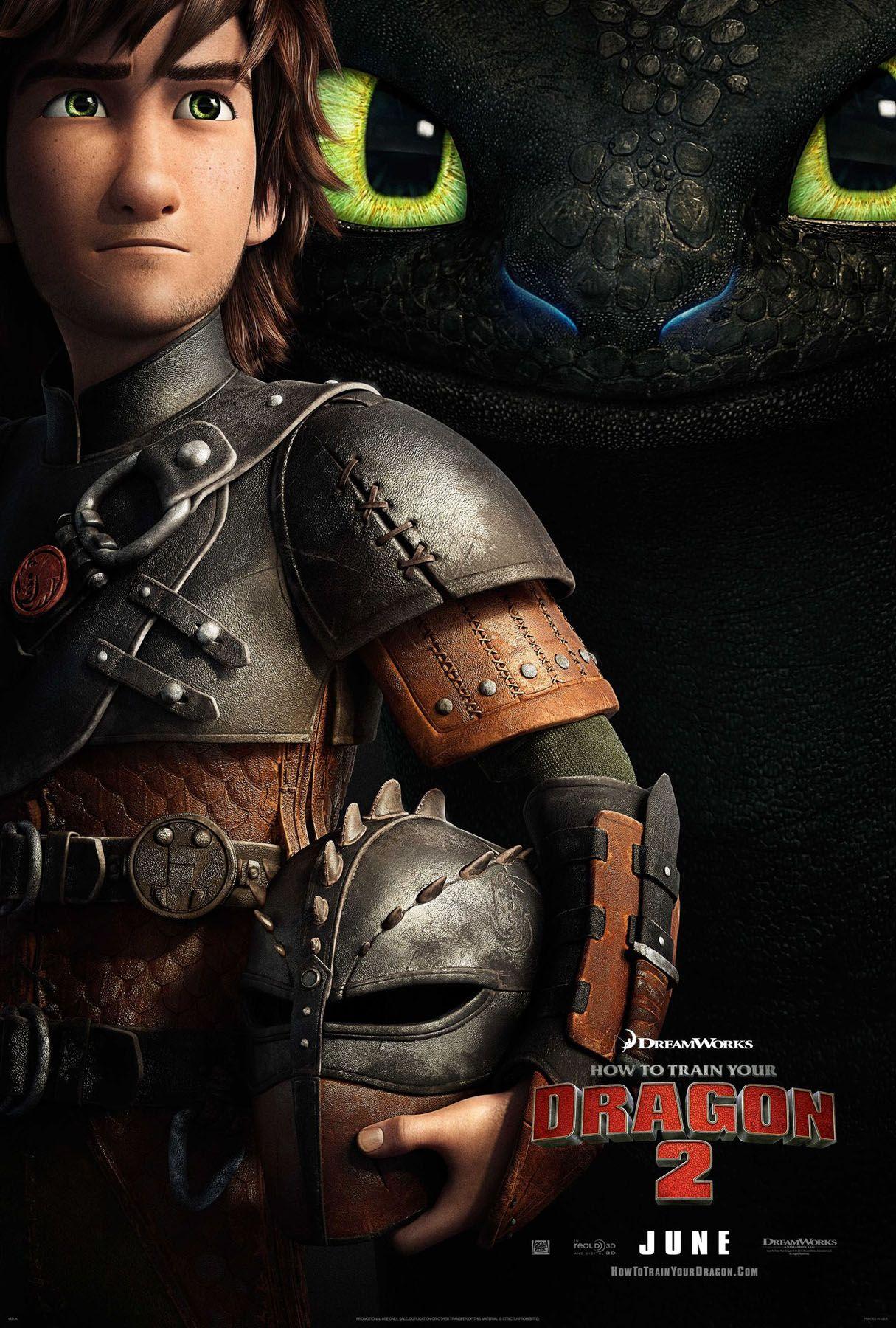 How To Train Your Dragon 2 Poster Hiccup Entrenando A Tu Dragon Cómo Entrenar A Tu Dragón Hipo Y Desdentado