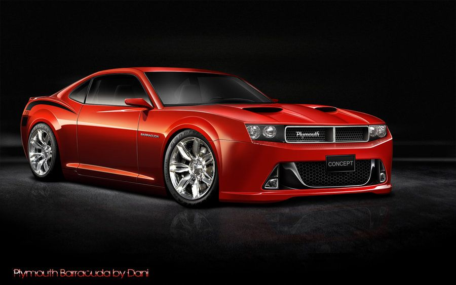 I Want This For My Next Sports Car 2017 Dodge Barracuda Plymouth Concept Danijel07