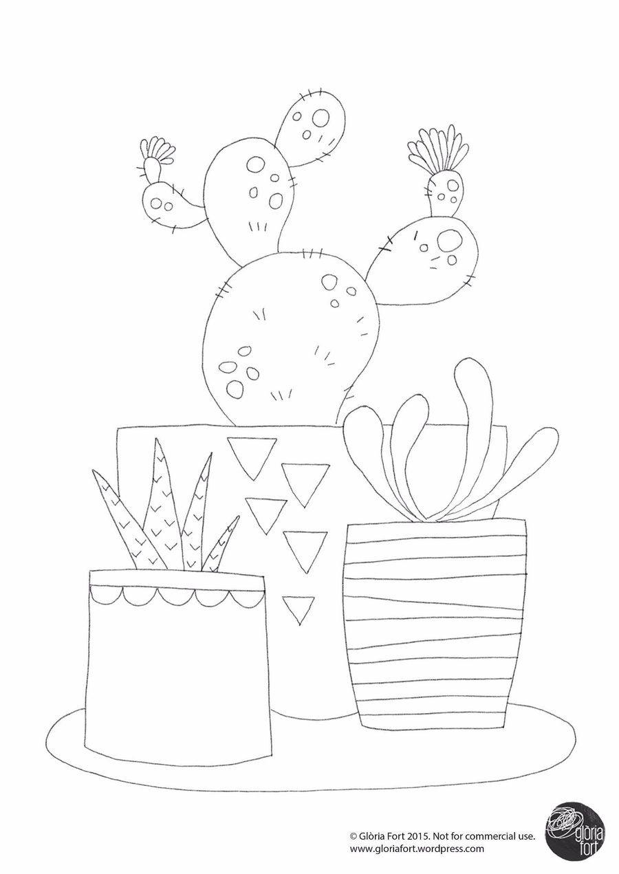 Magnífico Página Para Colorear Cactus Wren Colección de Imágenes ...
