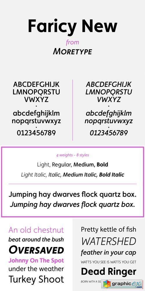 faricy font