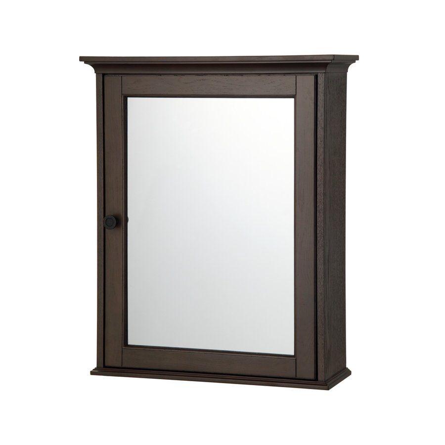 Allen Roth FLDC Flintshire Bathroom Wall Cabinet Lowes - Lowe's canada bathroom vanities for bathroom decor ideas