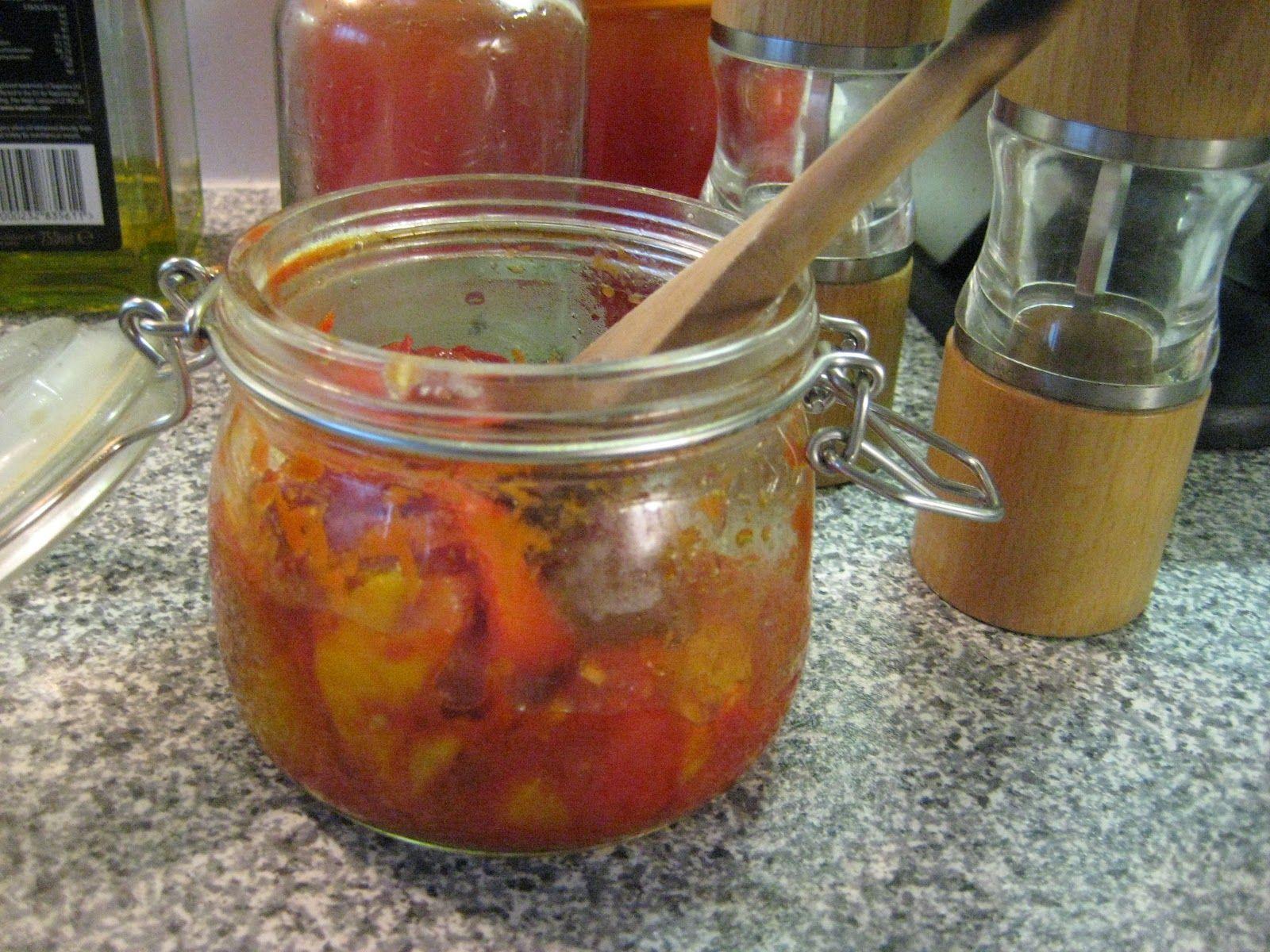 Tomato & Yellow Pepper Sauce
