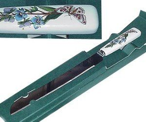 Portmeirion Botanic Garden Bread Knife 13 25 Long Amazon Com