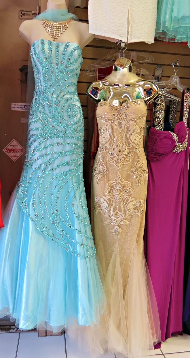 Prom Dresses At Santee Alley In Downtown La