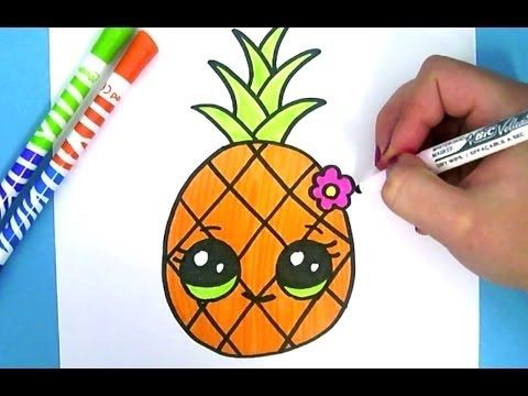 Comment dessiner cupcake kawaii tape par tape dessins kawaii facile youtube - Animaux facile a dessiner ...
