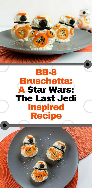 BB-10 Bruschetta: A Star Wars: The Last Jedi Inspired