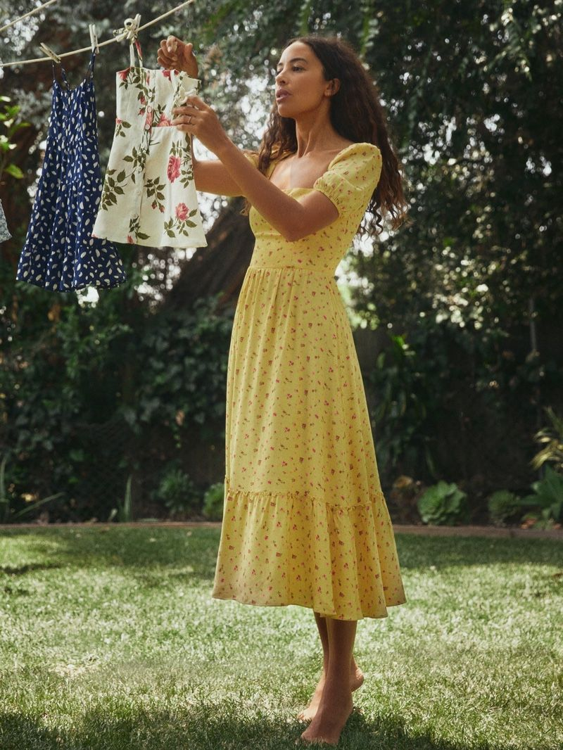 Mama Me Discover Reformation S Matching Dresses Cottagecore Fashion Fashion Cottagecore Style [ 1066 x 800 Pixel ]