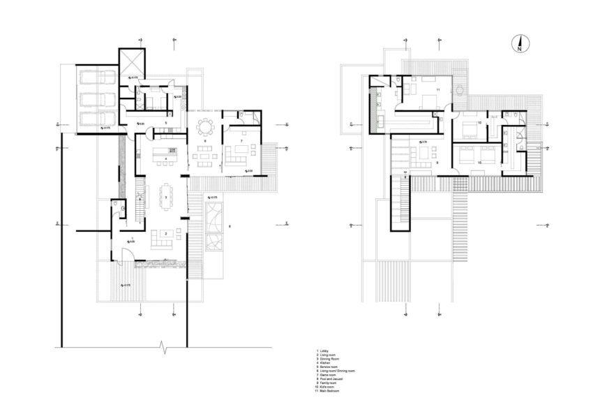 Concrete Construction Where Good Taste And Elegance Reign Supreme Large Floor Plans House Plans House