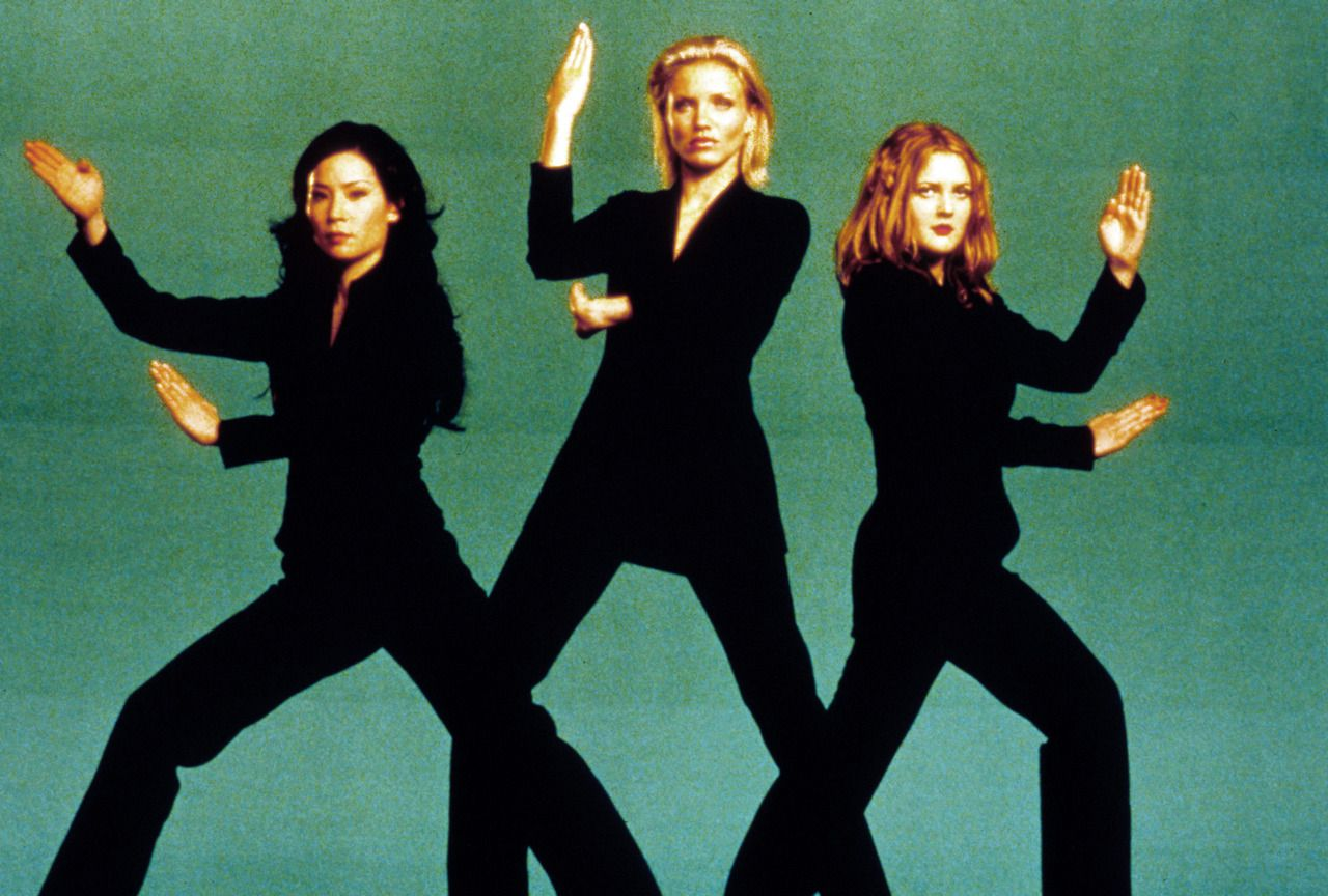 As Cheesy And Laughable This Movie Is I Always Get This Incredible Sense Of Empowerment From The Way The Ang Charlies Angels Movie Angel Movie Charlies Angels