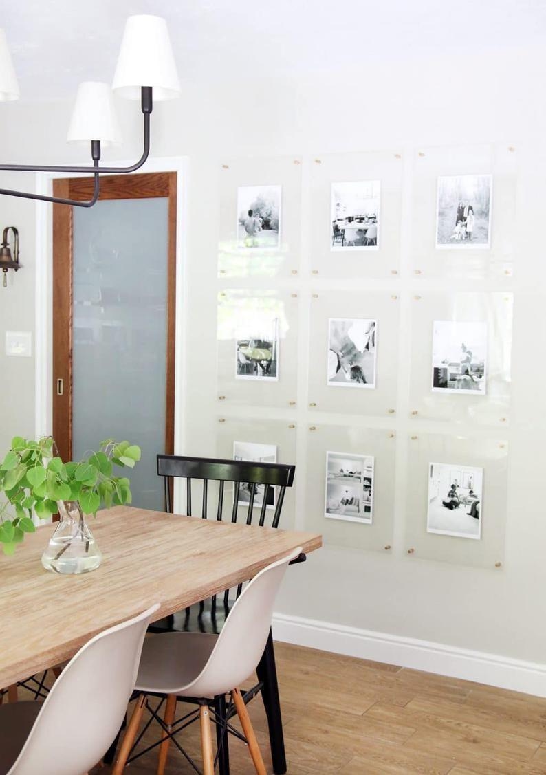 11x14 Acrylic Frame Etsy In 2020 Minimalist Dining Room Dining Room Gallery Wall Dining Room Design