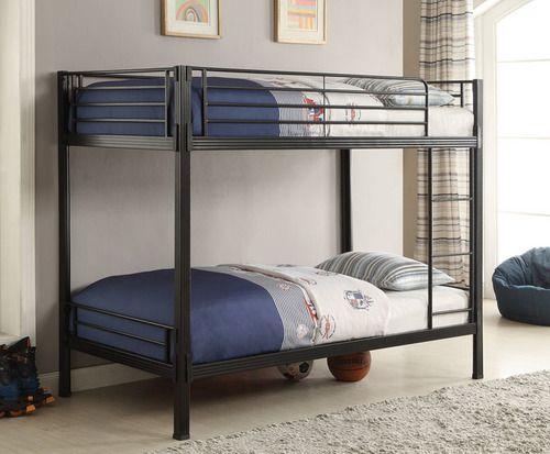 Alexsis Twin Convertible Bunk Bed Modern Bunk Beds Bunk Beds Twin Bunk Beds