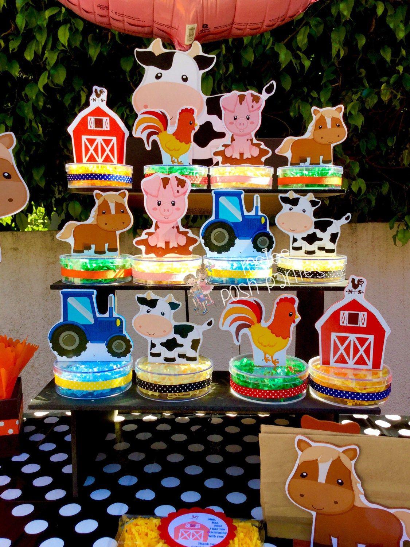 Farm Animal Birthday Favor Birthday Party Favors Candy Treat Favors Barnyard Birthday Favors