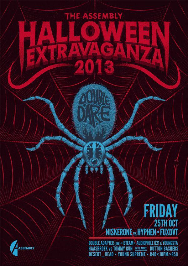 Halloween Extravaganza 2013 by Ian Jepson, via Behance