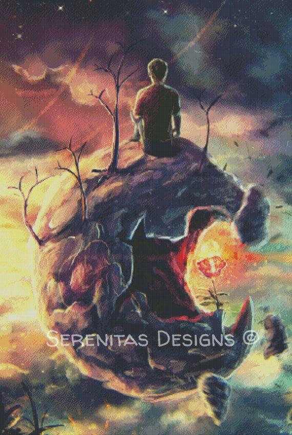 Cross Stitch Pattern Modern Little Prince by serenitasdesigns