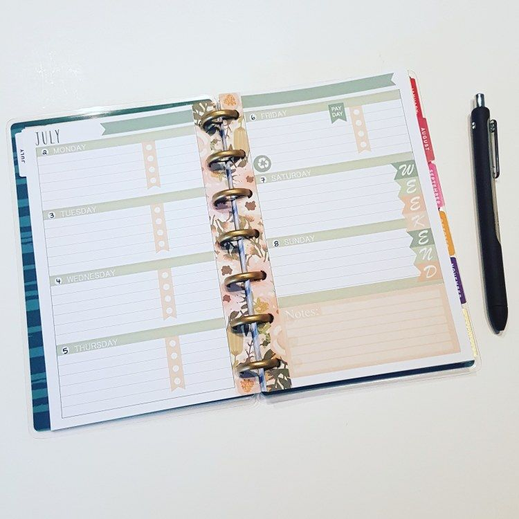 Free Printable Mini Planner Download