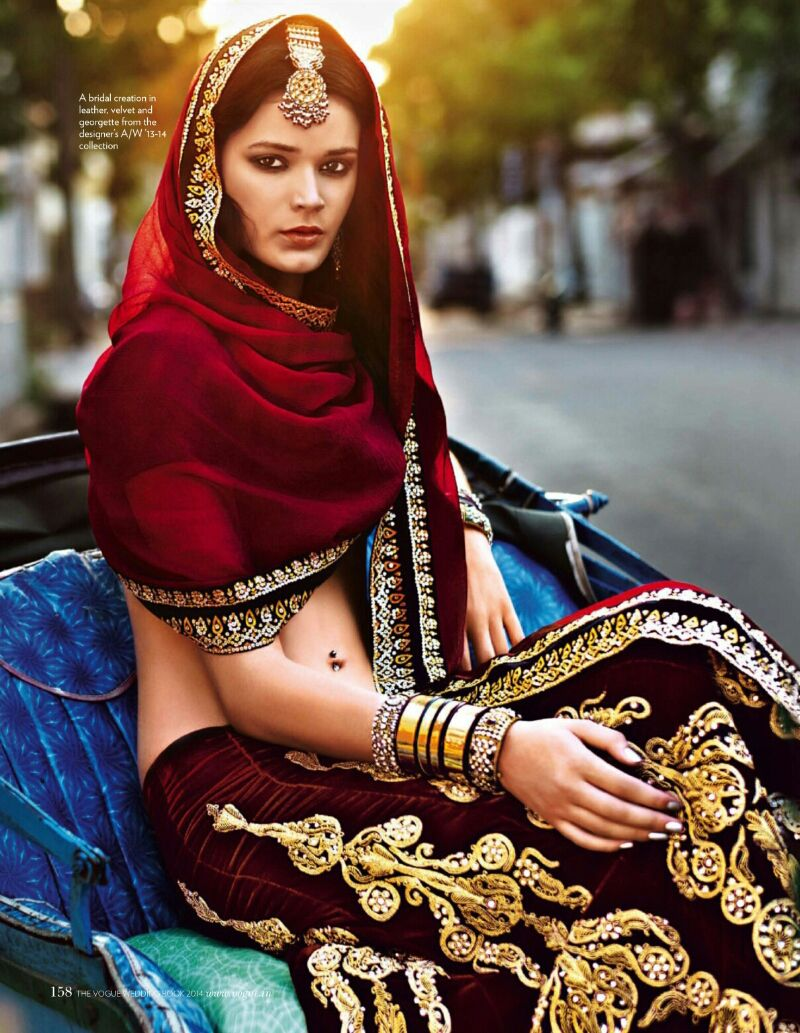 The Vogue India Wedding Book.