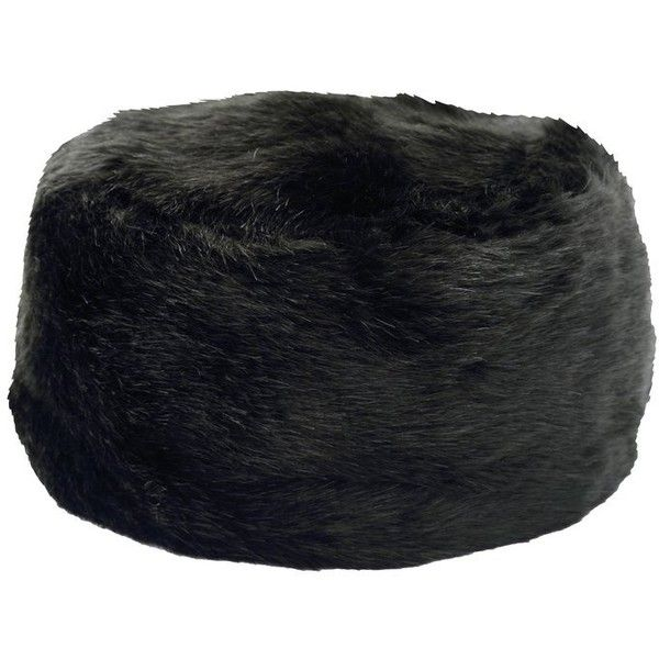 M&Co Faux Fur Cossack Hat ($25) ❤ liked on Polyvore featuring accessories, hats, black, fake fur hats, m&co, faux fur hat, black faux fur hat y black hat