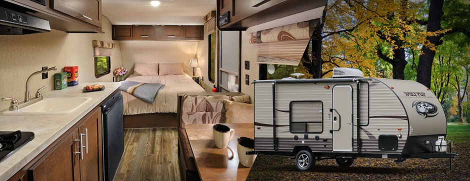Cherokee Wolf Pup Travel Trailers Toy Haulers By Forest River Rv
