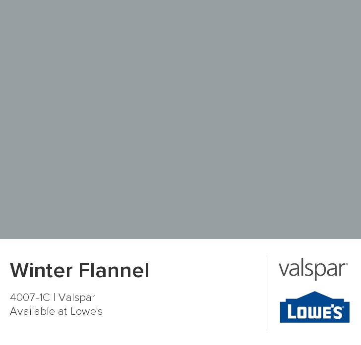 Valspar Paint Color Chip Winter Flannel Valspar Paint Colors Valspar Paint Valspar Paint Colors Gray