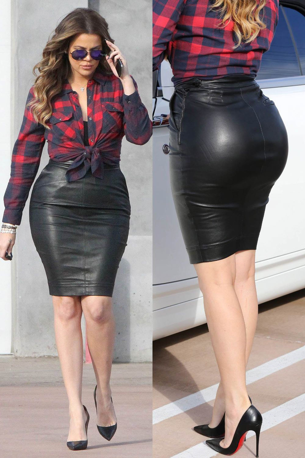 Leather Skirt Tight | Jill Dress
