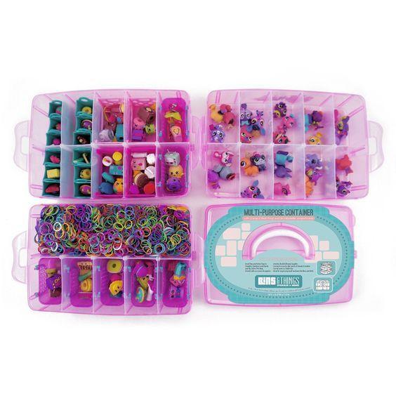 30 opções para organizar os brinquedos em miniaturas da