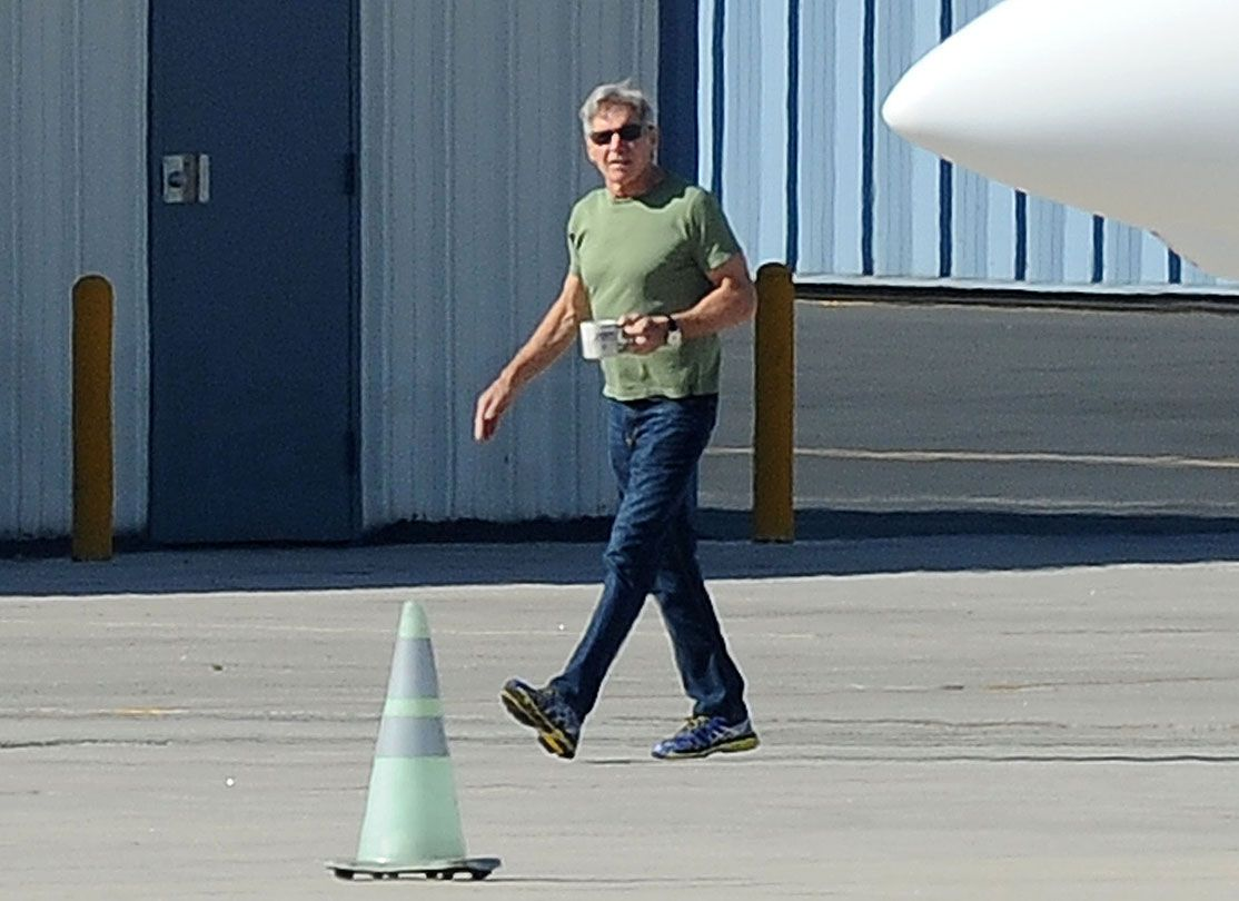 Harrison Ford Has Another Near Miss Flying His Plane See His Plane Collection Here