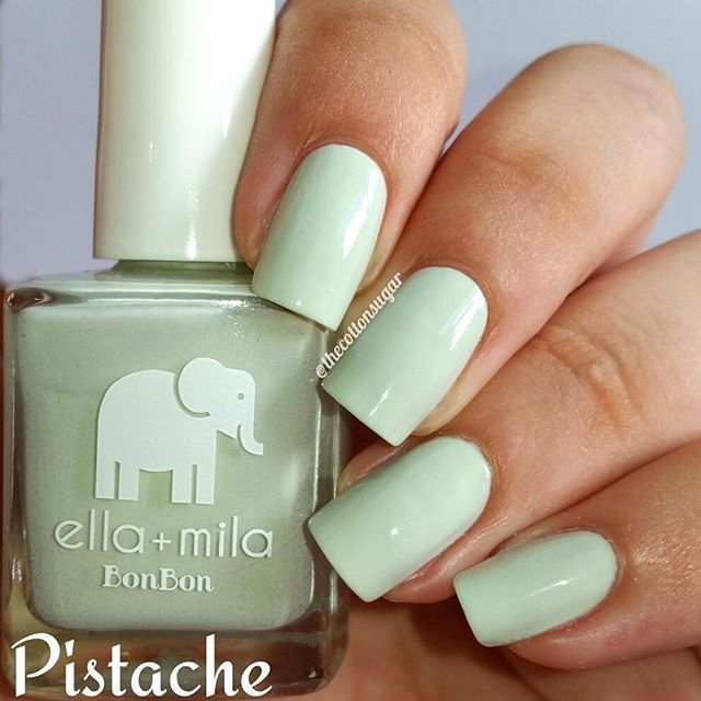 Ella+Mila - Pistache | My nail r on fleek!! | Pinterest