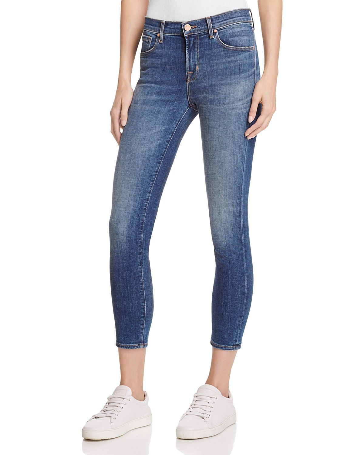 a8e398a80919b J Brand 835 Cropped Skinny Jeans in Sublime in 2019 | TBD Fashion ...