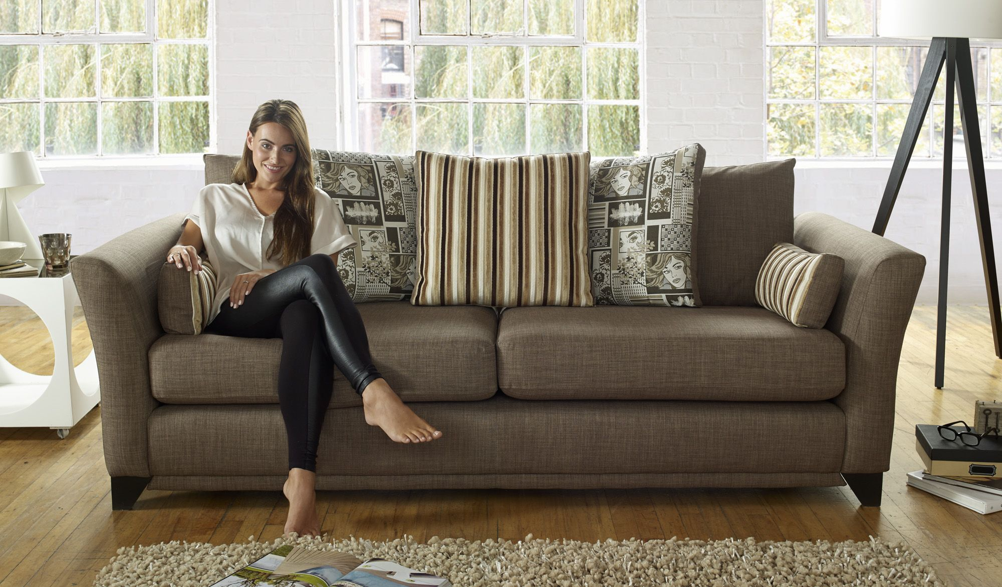 The Pop From Sofaworks Living Room Sofa Fabric