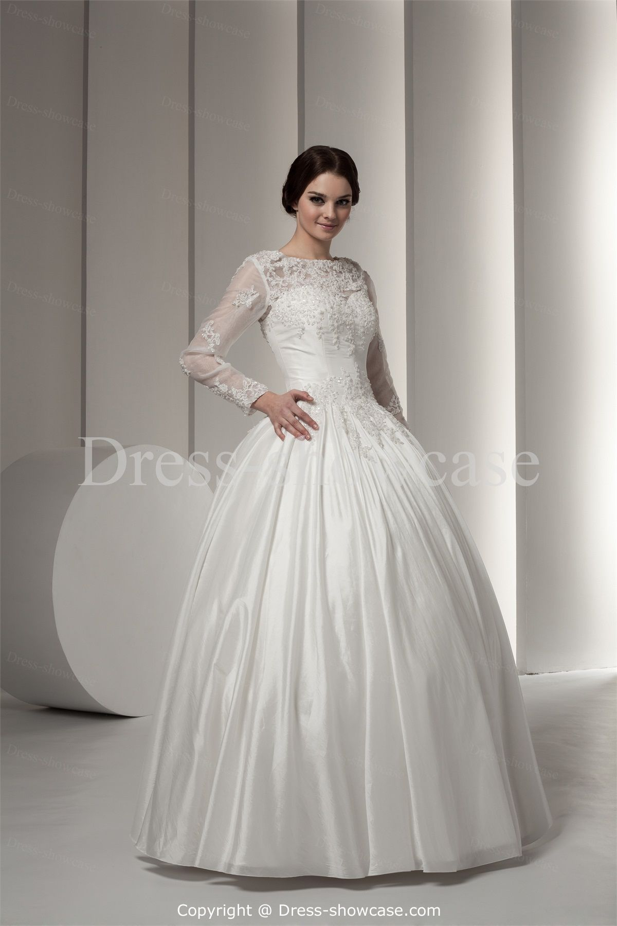 907ff44c6237ac Long Sleeve Ball Gowns