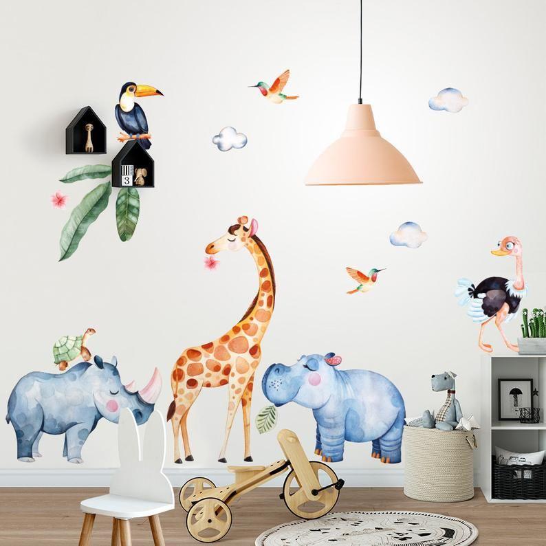 """adesivi murali con alberi per bambini """"albero degli uccellini""""; Pin On Camera Bambino Idee"""