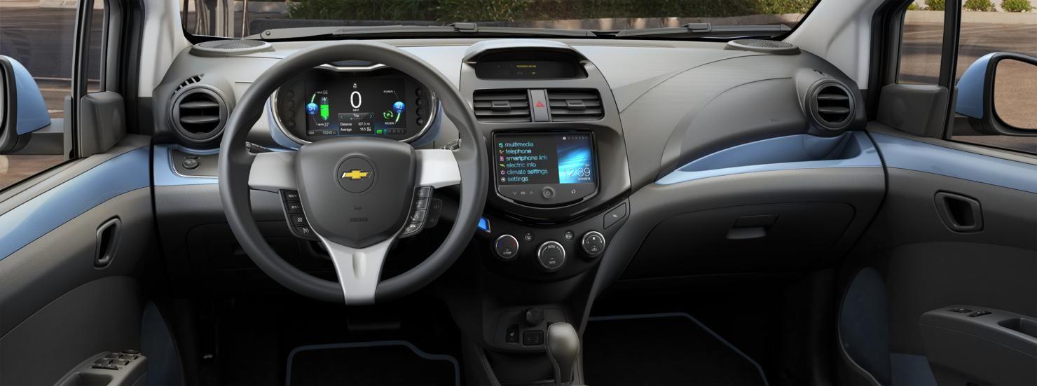 2015 Spark Ev Electric Vehicle Interior Fuel Efficient Cars Chevrolet Spark Mini Cars For Sale