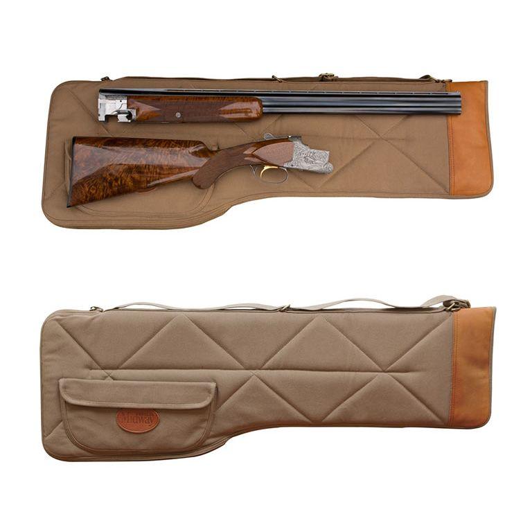MidwayUSA Deluxe Cotton Canvas Takedown Shotgun Case | Guns