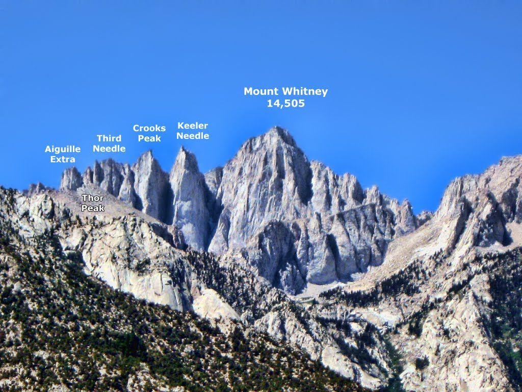 Mt San Jacinto Hiking Club Mount Whitney Whitney California Mountains