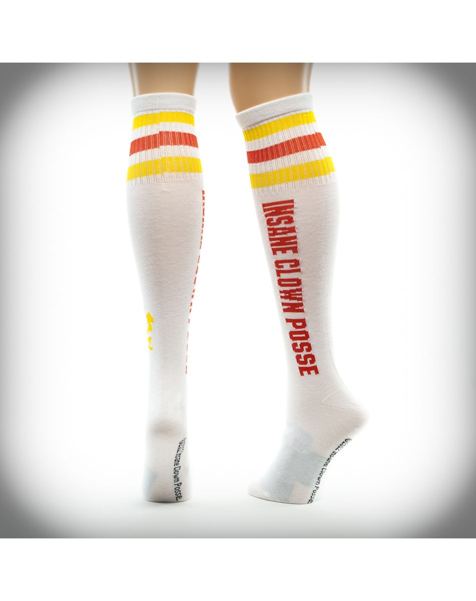 d4551d7aa0a Insane Clown Posse Hatchetman Striped Knee High Socks 2 Pk