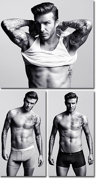 """""""No, David Beckham, put your shirt back on."""" Said no one. Ever. I just broke my nose on the computer screen."""
