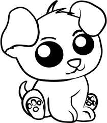 Super Cute Animal Coloring Pages Puppy Coloring Pages Animal