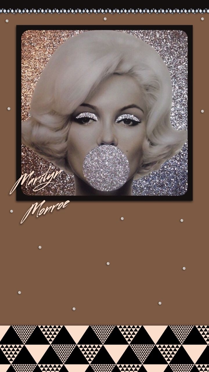 ༶tee's iscreens༶ — marilyn monroe iphone 6s plus homescreen