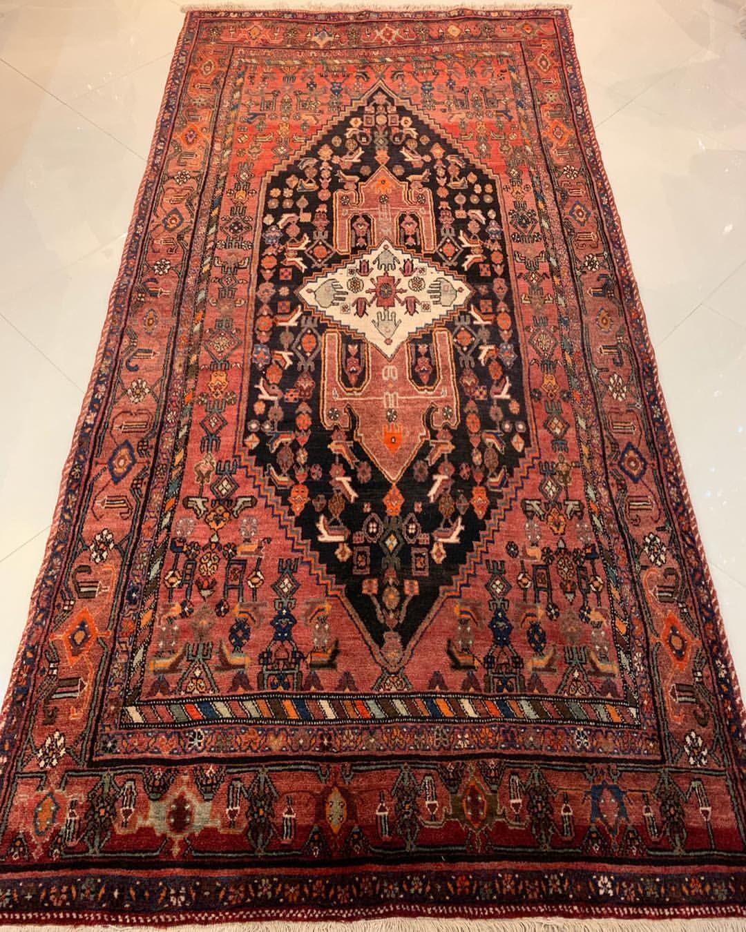 فرش دستباف قدیمی زنجان ک