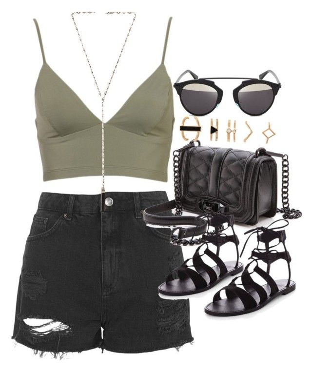 Outfit For Summer With A Khaki Bralet In 2020