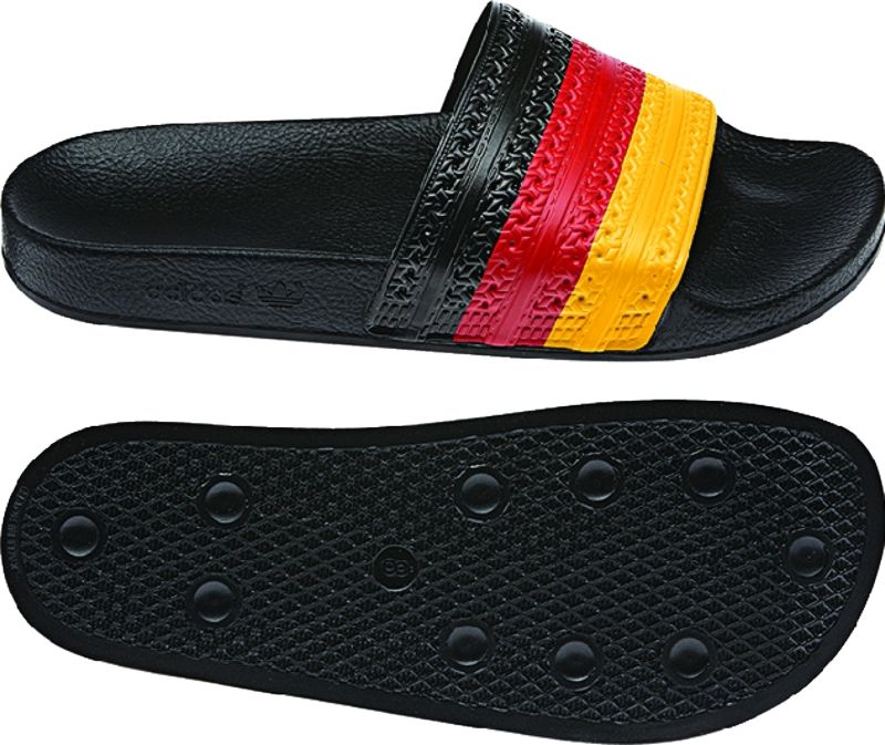 ff7c2ccda674bc Just in time for the World Cup this summer! Support Germany with these adidas  adilette slides.