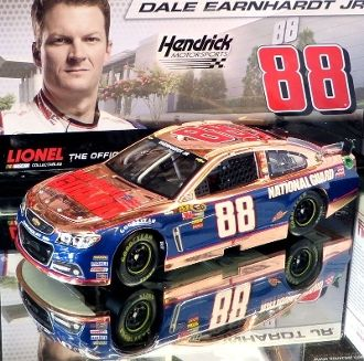 DALE EARNHARDT JR 2014 NATIONAL GUARD CHASE FOR THE CUP 1//24 ACTION