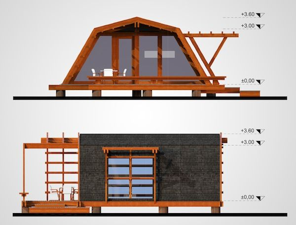 614 Sq Ft Soleta Zero Energy One Tiny Home Eco House Tiny House Cabin Small House Design