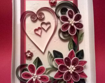 Happy birthday card handmade quilling quilled cards paper also tanu agarwal behappytanu on pinterest rh