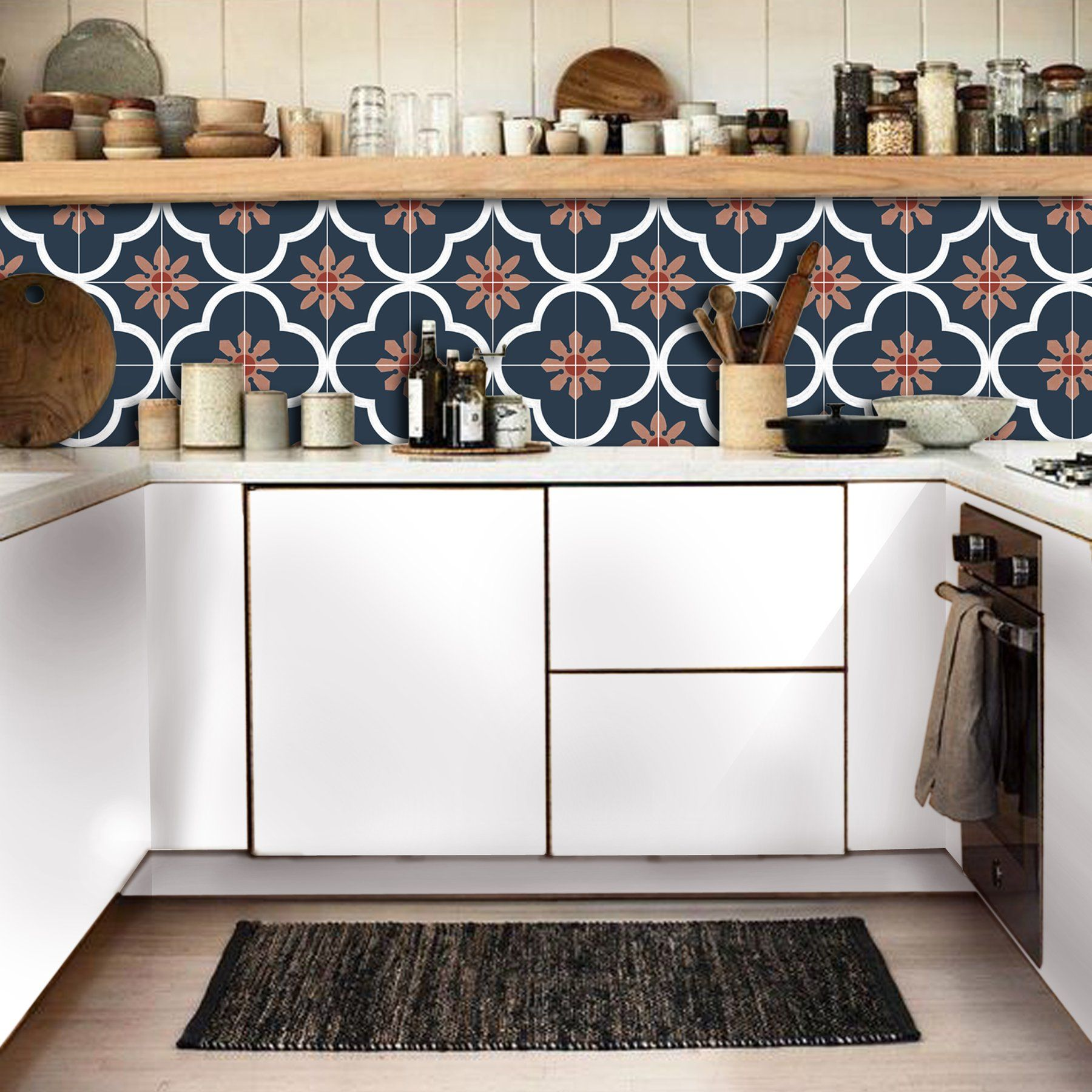 Pin On Bohemian Kitchen Backsplash