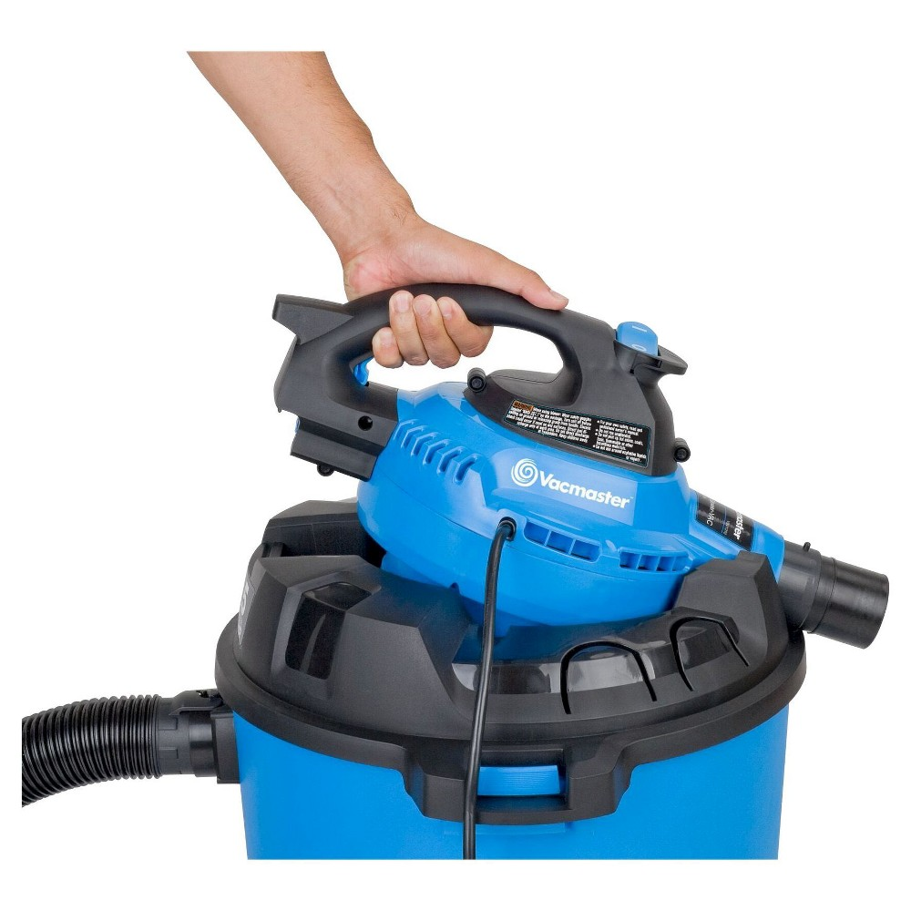 Vacmaster 12gal Wet/Dry Vac With Detachable Blower, Blue