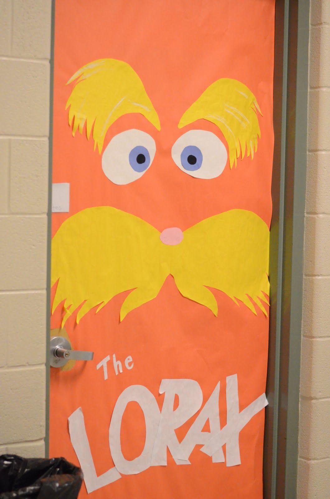 OVER 15 Dr. Seuss Door Decorating Ideas from The Lemonade ...