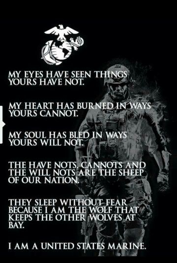Marines Quotes I Was A Seal But I Like The Message  Marines  Pinterest  Messages